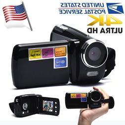 1.8 Inch TFT 4X Digital Zoom Mini Video Camera Black Light T
