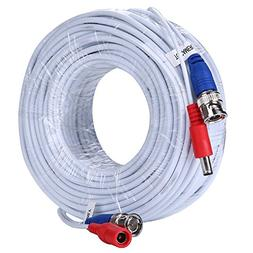 ANNKE 2-In-1 Video Power Cable 100 Feet  Security Camera Cab