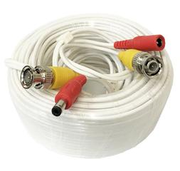 100 Feet Video Power BNC RCA Cable fit Q-See CCTV Security C