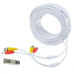 100ft BNC Video Power Wire Cord for Swann Night Owl CCTV Cam