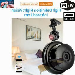 1080P CCTV Wireless IP Mini Wifi Camera Baby Monitor Securit
