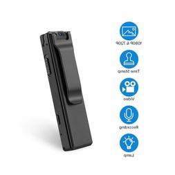 BOBLOV 1080P Mini Body Cameras with Audio Wearable Video