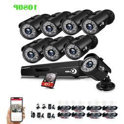 XVIM 1080P Video Surveillance DVR 2MP Outdoor CCTV Security