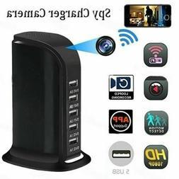 1080P WIFI Hidden Camera 5 USB Port Security Camera Video Re