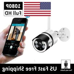 1080P Wireless Security IP Video Camera Two-way Audio Free A