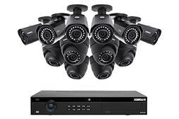 Lorex 16 Channel 4K 4MP 12 Camera Security System NR9163 3TB