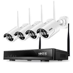 ZOSI 1280x720P HD Wireless 1MP Security Network Camera with