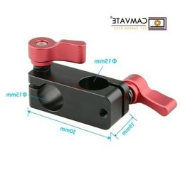 CAMVATE 15mm Right Angle Rod Clamp Clip Rotate Mount For Vid