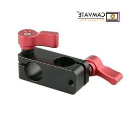 CAMVATE 15mm Right Angle Rod Clamp Mount for Video Camera DS