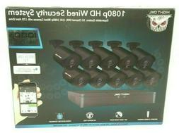 Night Owl 16 Channel HD Video Wired Security System DVR w/ 1