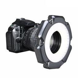 160 Annular Camcorder LED Fill Light Studio Video Lamp for C