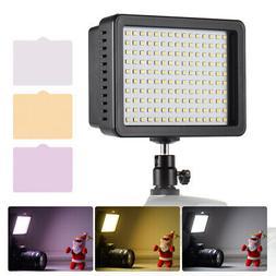 Andoer 160pcs LED Video Light Dimmable Lamp 5600K for DSLR C
