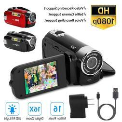 16X Zoom Digital Video Camera Camcorder 1080P YouTube Vloggi