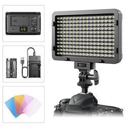 LED Video Light, ESDDI 176 LED Ultra Bright Dimmable Camera