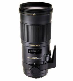 Sigma 180mm F2.8 EX APO DG HSM OS Macro for Canon SLR Camera