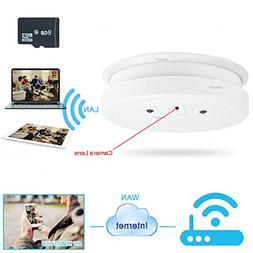 WISEUP 8GB 1920x1080P HD Wifi Network Hidden Spy Camera Smok