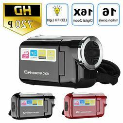 2.0'' 16MP HD 720P Video Camera 16X TFT LCD Digital Zoom Wit