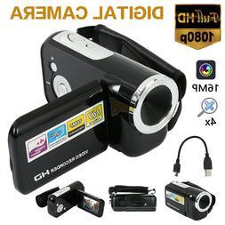 2.0'' Digital Video Cameras 16MP 4 x Zoom Camcorder Video Ca