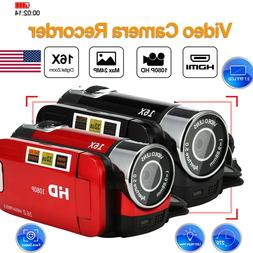 2.7'' 16MP HD 1080P Video Camera 16X TFT LCD Digital Zoom DV