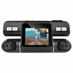 2'' Dual Lens Camera HD Car DVR Vehicle Video Dash Cam Recor