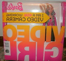 2009 VIDEO GIRL BARBIE REAL VIDEO CAMERA IN COLOR NEW NRFB