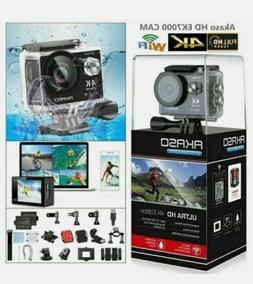 2020 New Akaso EK7000 Black Action Camera 12MP Waterproof Ul