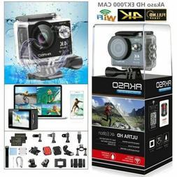 2020 new ek7000 black action camera 12mp