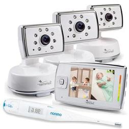 Summer Infant 28980 Dual View Digital Color Video Monitor wi