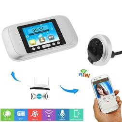 3.2'' Smart Visual Doorbell HD 720P TFT Peephole Wifi Video