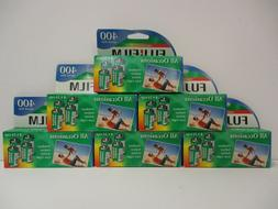 36 ROLLS NEW FUJIFILM 400 speed All Occasion 35mm 24Exp Colo
