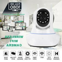 360° 1080P Security IP Video Camera Smart WiFi Cam Baby Pet