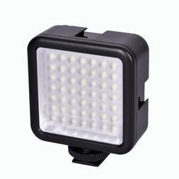 49-LEDs Video Flash Light Photography Lighting for DSLR came