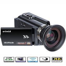 4K Camera Wifi Camcorder Kimire Ultra Hd Digital Video Camer