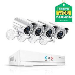 FREDI 4CH Security Camera System AHD 720P 1MP DVR Video Surv