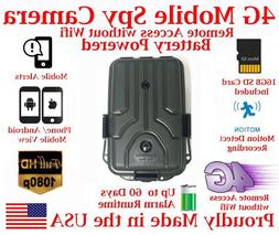 AES 4GRD-5E 4G LTE Mobile Outdoor Battery Powered Spy Camera