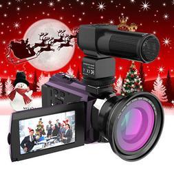 Andoer 4K 1080P 48MP WiFi Digital Video Handy Camera Camcord
