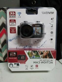 VIVITAR 4K Ultra HD Action Cam DVR922HD-BLK-WM NEW SEALED