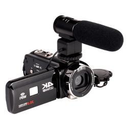 4K WiFi Ultra HD 1080P 16X ZOOM Digital Video Camera DV Camc