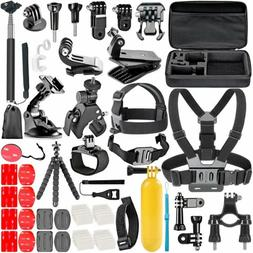 58 In 1 Action Camera Accessories Kit For GoPro Hero Video C