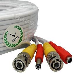 60 Feet Video Power BNC RCA Cable fit Q-See CCTV Security Ca