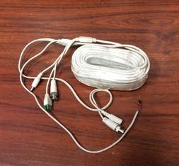 60Ft PTZ Power Video & RS-485 Control Cable for Swann Lorex