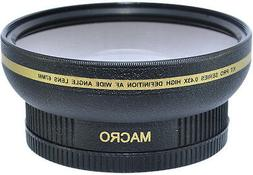 62MM WIDE ANGLE + MACRO LENS FOR JVC VIDEO CAMERAS WITH 62MM
