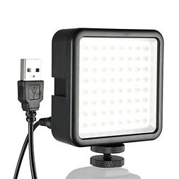 SUPON 64 LED Light Panel,Ultra-Bright Portable Dimmable Cont