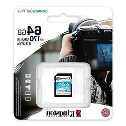 64GB SD XC Kingston Memory Card For Canon Legria HF R806 Vid