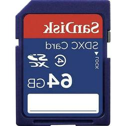 SanDisk 64GB SDXC SD Flash Memory Card Class 4 HD Video Came
