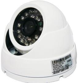 740W Professional 700 TVL High Resolution White Dome Waterpr