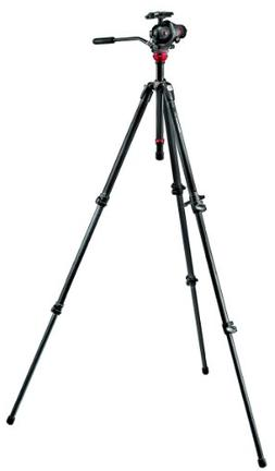 Manfrotto 755CX3-M8Q5 Kit Photo/Vidéo Trépied Carbone 755C
