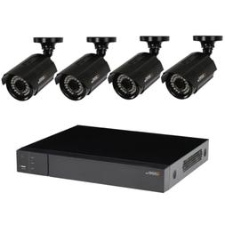 8-Channel 1080p 1TB Video Surveillance System 4 HD Cameras 1