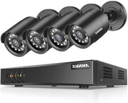 Annke 8-Channel Hd-Tvi 1080P Lite Video Security System Dvr