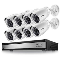 ZOSI 720p 16 Channel Security Camera System,720p HD-TVI CCTV